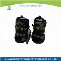 Lovoyager Hot selling camo rain boots for dog with low price