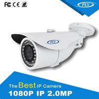 hottest 1080p 2mp onvif full hd poe cctv indoor & outdoor bullet p2p ip camera FCC,CE,RoHS Certification