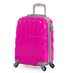 abs luggage and suitcase lightweight abs trolley case 2016
