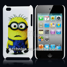 for iPod touch 4 3D sublimation hard case