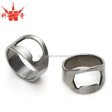 wholesale sale custom logo ring bottle opener from Zhongshan