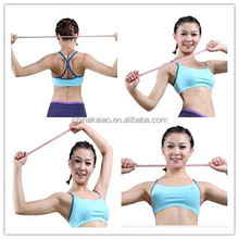 Wholesale silicone fitness rope, portable exercise equipment, OEM ODM