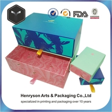 professional paper packing box for gift with ribbon