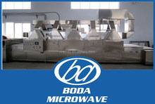 fully automatic continuous feed Tunnel Microwave Dehydration Sterilizing dryer