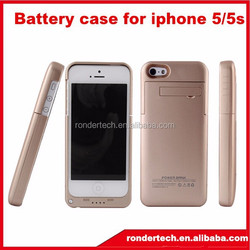 Emergency charge case for iphone 5 5s battery case ,power bank case for iphone 5 5s