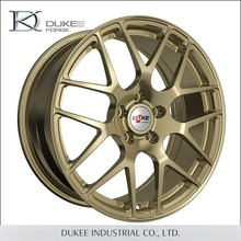 Custom made forged 2015 newest gold wire wheels
