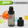 2015 hot sales e liquid empty bottle 5ml hot sale with child proof with long thin dropper
