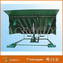 22t capacidad hidráulica estacionaria rampa de carga
