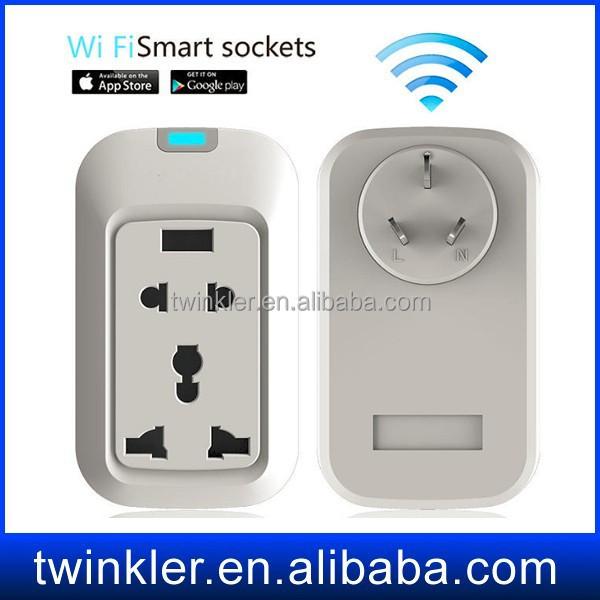 Smart Home Automatic System 220v Smart Socket Smart Phone