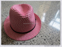 Fashion Design paper fedora hat cheap