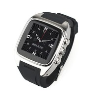 Custom touch screen gsm smart phone watch,Metal Body,built in SIM card Android 4.2,2G/3G,WIFI,GPS,Camera,3g phone