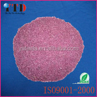 high quality pink aluminum oxide for Abrasive block