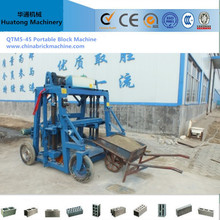 portable block machine manual brick machines
