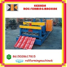 produce roof tile forming machine,glazed tile making machine,steel sheet roll former