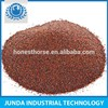 Sand blasting material Free Flow 90% Minimum garnet 30 60 mesh size for trolley type shot blasting machine use