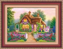 Small Fairy Tale Houses diy diamond painting wall decoration, diamond painting kit