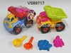 plastic mini beach toys mini beach bucket toy