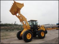 Qingzhou 4.5 m3 bucket 5T wheel loader 855A for port light material
