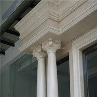 China high quality marble stone plastic pillar caps