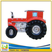 Resin Magnet Tractor Farm Tractor