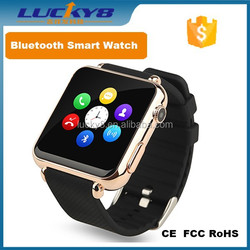 New Smart Bluetooth Watch Y6 Smart Phone Wrist watches with 500 mAH Bettery Support SIM Card smart watches for android phones