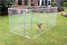 Galvanized Dog Kennel XFR002