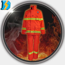 2015 New Style Colored Protective Clothing Firefighting Aluminized Fire Fighter Suit