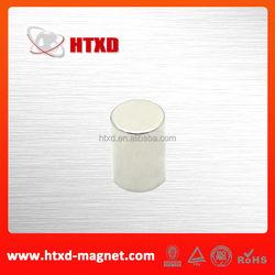 Neodymium cylinder magnet rare earth ndfeb n45 magnet