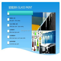 paint color tempered glass