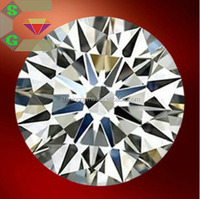 1.2mm wuzhou hot sale synthetic gem star cut white round clear cz stone