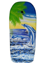 EPS core graphic design toy swimming surfboard for children made in China