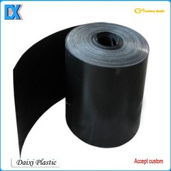Plastic packing black pvc sheets