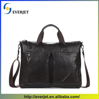 New style business art laptop bag wholesale mens leather briefcase