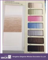 Home Decoration Window Gradient Color Fabric Zebra Blind