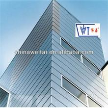 New design durable F shaped strip ceiling for exterior wall