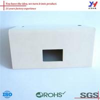 drawings custom sheet metal fabrication aluminum extrusion box,aluminum cosmetic box