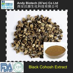 Triterpenoid Saponis 2.5% Black Cohosh Root Extract Powder