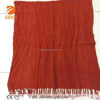 2015 new arrival 100% acrylic scarf plain scarf hot selling