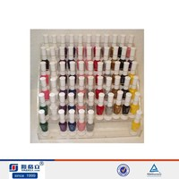 2016 high population wall mounted pmma nail polish hold stand