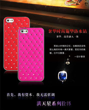 mobile phone bags cases for iphone 5C Bling All over the sky star Set diamond Grind arenaceous cover case for iphone 5C
