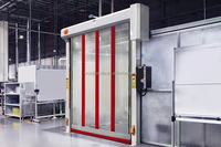 transparent automatic door for operating room/clean room