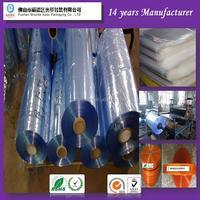 Manufacturer advanced equipment PVC Heat Shrink Sleeve Film 300mm