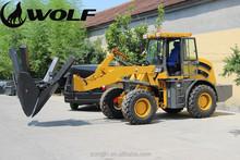 1m3 bucket loader, 2.0 ton loading capacity, modern construction equipments ZL20