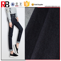 HIgh quality raw denim jeans fabric material for clothing