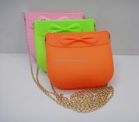 China ladies rubber cute small silicone handbags