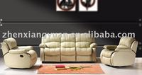2015 Living room products Reclining sofa living room top leather sofa sets for home