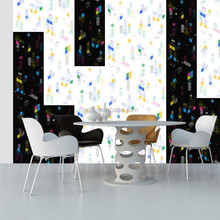 Best price living room decorate non-woven paper plant wallpaper in Hangzhou
