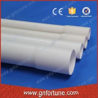 Hot sale bell end pvc hard pipe for electrical wire