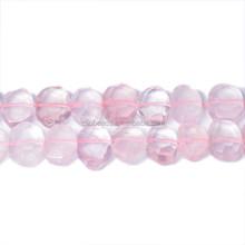 15X20mm Faceted Rose Quartz Slabs Rose Pink Gemstone Slabs Wholesale
