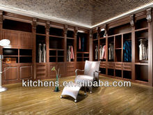 2015 New Design Solid Wood Bedroom Wardrobe AGW-001